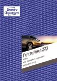 Avery Zweckform® 223 Fahrtenbuch - A5, steuerlicher km-Nachweis, 40 Blatt, weiß Fahrtenbuch DIN A5