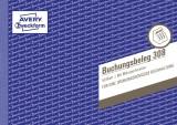 Avery Zweckform® 308 Buchungsbeleg, DIN A5 quer, mikroperforiert, 50 Blatt, weiß weiß 50 Blatt