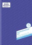 Avery Zweckform® 427 Kassenabrechnung, DIN A4, mit MwSt.-Spalte, 2 x 50 Blatt, weiß, gelb DIN A4