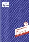 Avery Zweckform® 1768 Kassenabrechnung, DIN A4, mit MwSt.-Spalte, 2 x 40 Blatt, weiß, gelb DIN A4