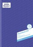 Avery Zweckform® 426 Kassenbuch, DIN A4, nach Steuerschiene 300, 100 Blatt, weiß Kassenbuch weiß