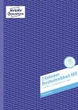 Avery Zweckform® 450 Kolonnen-Durchschreibbuch, DIN A4, 2 Kolonnen, 2 x 50 Blatt, weiß weiß