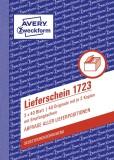 Avery Zweckform® 1723 Lieferscheine mit Empfangsschein, DIN A6, mit Empfangsschein, 3 x 40 Blatt, weiß, gelb, rosa