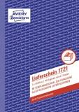 Avery Zweckform® 1721 Lieferscheine mit Empfangsschein, DIN A5, mit Empfangsschein, 3 x 40 Blatt, weiß, gelb, rosa
