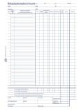 Avery Zweckform® 741 Reisekostenabrechnung, DIN A4, für monatliche Abrechnung, 50 Blatt, weiß
