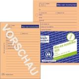 Avery Zweckform® 1014 Was war inzwischen/was ist zu tun, DIN A6, vorgelocht, 50 Blatt, orange