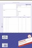 Avery Zweckform® 2397 Rechnung, DIN A4, selbstdurchschreibend, 40 Blatt, weiß Rechnungen weiß