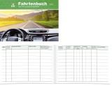 RNK Verlag Fahrtenbuch für Pkw - 64 Seiten, A6 quer Fahrtenbuch DIN A6 quer 32 Blatt
