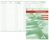 RNK Verlag Fahrtenbuch für Pkw - 64 Seiten, A5 Fahrtenbuch DIN A5 32 Blatt selbstdurchschreibend