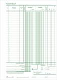 RNK Verlag Kassenbuch - mit Umsatzsteuererfassung - SD, 2 x 40 Blatt, DIN A4 Kassenbuch A4 SD, MP