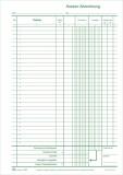 RNK Verlag Kassenbuch ohne Umsatzsteuer, 2x50 Bl., DIN A4, Durchschreibepapier, nummeriert A4