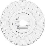 RNK Verlag Original HAUG Diagrammscheiben 180 100 (180 km/h Automatik), 100 Stück Tachoscheibe
