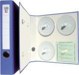 RNK Verlag Archivordner für Diagrammscheiben, Maße (BxHxT): 29,7 x 31,8 x 5,6 cm, blau blau