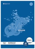 Staufen® style Briefblock - A4, 50 Blatt, 70g/qm, 9 mm, liniert Briefblock 9 mm liniert A4 70 g/qm
