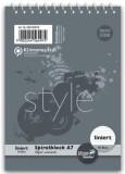 Staufen® style Spiralblock A7 40 Blatt 70g/qm 8,5mm liniert Spiralblock liniert A7 70 g/qm 40