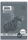 Staufen® style Spiralblock A7 40 Blatt 70g/qm 5mm kariert Spiralblock kariert A7 70 g/qm 40