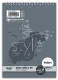Staufen® style Spiralblock A6 40 Blatt 70g/qm 8mm liniert Spiralblock liniert A6 70 g/qm 40