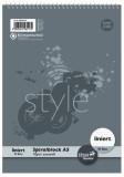 Staufen® style Spiralblock A5 40 Blatt 70g/qm 9mm liniert Spiralblock liniert A5 70 g/qm 40