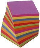 Folia Ersatzzettel - bunt, ca. 700 Blatt, lose Zettelboxnachfüllung bunt 9 x 9 x 9 cm ca. 700 Blatt