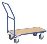 fetra® Magazinwagen - 1000 x 600 mm, bis 200 kg Schiebegriffwagen 1000 x 600 mm 1250 mm 600 mm