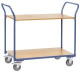 fetra® Tischwagen, 850 x 450 mm, bis 200 kg Tischwagen 850 x 450 mm 200 kg 25 kg 185,81 mm