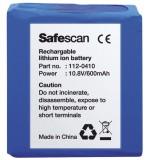 Safescan® LB-105 - Wiederaufladbarer Akku Akku 37 x 16 x 38 mm blau