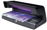 Safescan® 50 schwarz - UV Geldscheinprüfgerät Banknotenprüfer 206 x 102 x 88 mm schwarz