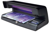 Safescan® 70 schwarz - UV Geldscheinprüfgerät Banknotenprüfer 206 x 102 x 88 mm schwarz