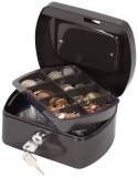 Q-Connect® Geldkassette - 155x120x75mm - schwarz Geldkassette schwarz 155 x 120 x 75 mm