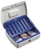 Burg-Wächter Geldzählkassetten Office Größe: 255x200x75mm - weiß/blau Geldkassette weiß/blau