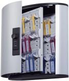 Durable Schlüsselkasten KEY BOX - 36 Haken, mit Zahlenschloss und Panel, grau Schlüsselschrank