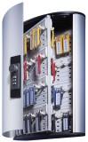 Durable Schlüsselkasten KEY BOX - 72 Haken, mit Zahlenschloss und Panel, grau Schlüsselschrank
