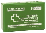 Leina-Werke Betriebsverbandkasten klein - ohne Wandhalterung grün