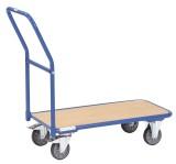fetra® Magazinwagen - 850 x 450 mm, bis 200 kg Schiebegriffwagen 850 x 450 mm 1100 mm 450 mm 900 mm