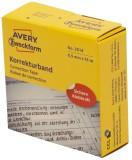 Avery Zweckform® 3514 Korrekturbänder - 8,5 mm x 15 m, weiß Korrekturband weiß 8,5 mm 15 m 74 mm