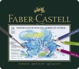 Faber-Castell Künstler-Aquarellstift ALBRECHT DÜRER®,24 Farben sortiert im Metalletui 3,8 mm