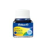 Pelikan Tusche A 523, Glas, 10 ml, ultramarin Tusche 10 ml ultramarin