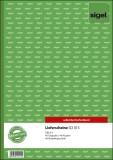 Sigel® Lieferscheine mit Empfangsschein - A4, 1. und 2. Blatt bedruckt, SD, MP, 2 x 40 Blatt A4