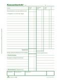 RNK Verlag Kassenbericht - Block mit Vorsteuer-Erfassung, 50 Blatt, DIN A5 Kassenbericht A5 50 Blatt