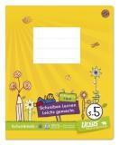 Formati Schreibheft Quart S.5 - 20 Blatt 80g/qm 10mm liniert Schreibheft