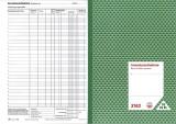 RNK Verlag Inventuraufnahme - Block, 50 Blatt, DIN A4 zur einfachen Durchführung der Waren-Inventur