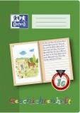 Oxford Schreiblernheft LIN 1G - A4, 16 Blatt, 90g/qm, Geschichtenheft Heft 1G A4 90 g/qm