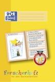 Oxford Schreiblernheft LIN 1F - A4, 16 Blatt, 90g/qm, Forscherheft Sachunterricht der 1. Klasse Heft