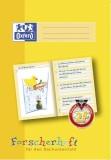 Oxford Schreiblernheft LIN 2F - A4, 16 Blatt, 90g/qm, Forscherheft Sachunterricht der 2. Klasse Heft
