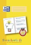 Oxford Schreiblernheft LIN 4F - A4, 16 Blatt, 90g/qm, Forscherheft Sachunterricht der 4. Klasse Heft