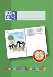 Oxford Schreiblernheft LIN 4G - A4, 16 Blatt, 90g/qm, Geschichtenheft Heft 4G 4. Schuljahr A4