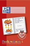 Oxford Schreiblernheft LIN 1SR - A5, 16 Blatt, 90g/qm, Sachrechenheft Heft 1SR 1. Schuljahr A5