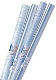 Herma 7002 Selbstklebefolie - 2 m x 40 cm, glänzend Buchschutzfolie 40 cm 2 m farblos, glänzend