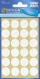Avery Zweckform® 3707 Z-Design Filzgleiter rund, weiß, 18 mm, 24 Stück Filzgleiter weiß 18 mm