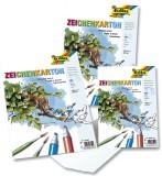 Folia Zeichenkarton 200 g/qm, DIN A2, Einzelblätter Zeichenkarton A2 200  g/qm weiß